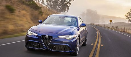 2017 Alfa Romeo Giulia Ti Commanding Performance