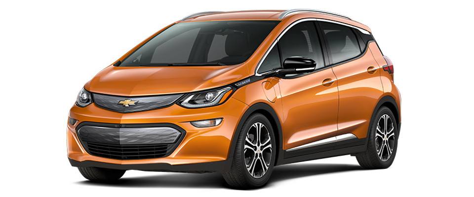 2017 Chevy Bolt EV Overview Image