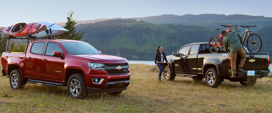 2018 Chevy Colorado Overview Image