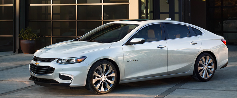 2017 Chevy Malibu Overview Image