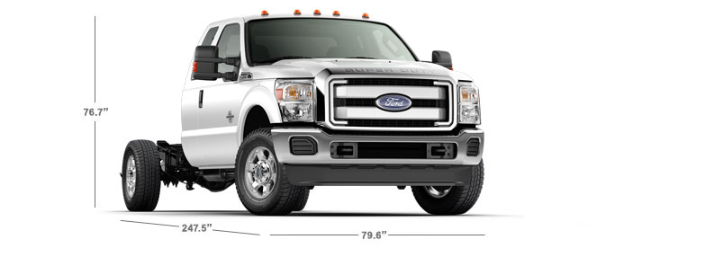 2015 Chassis Cab Specifications