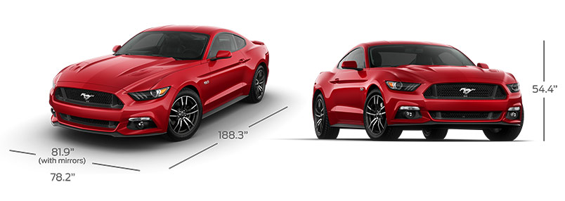 2016 Mustang Specifications
