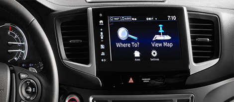 Honda Satellite-Linked Navigation System