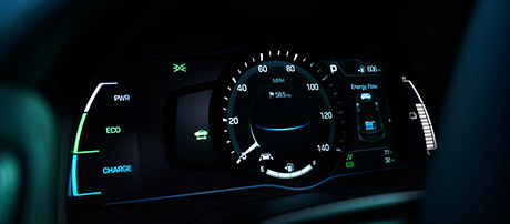 Drive Mode Select and Digital Instrument Cluster