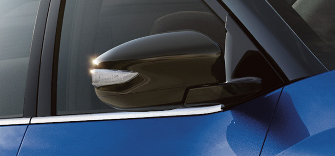 Power Heated Outside Mirrors With LED Turn Signal Indicators