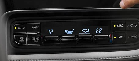 Dual Zone Climate Control