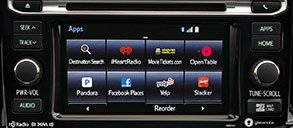 Entune<sup>™</sup> Premium Audio With Integrated Navigation and App Suite