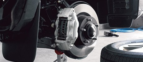 Powerful Front Brakes