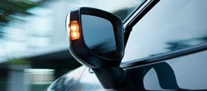 Power Outside Mirrors With LED Turn Signal Indicators