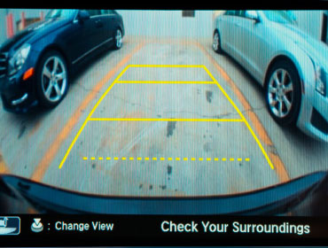Multi-View Rear Camera with Dynamic Guidelines