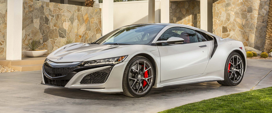 2017 Acura NSX overview image