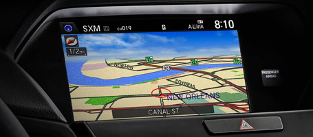 Intuitive Acura Navigation System