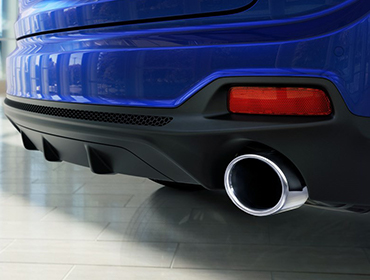 Dual Exhaust Outlets
