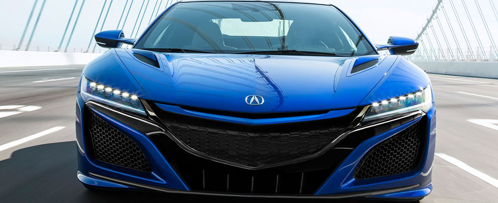 2019 Acura NSX Safety Main Img