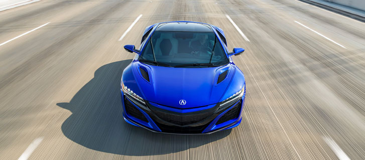 2020 Acura NSX performance