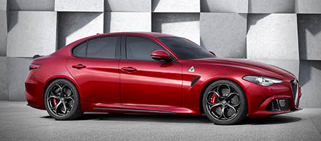 2017 Alfa Romeo Giulia Quadrifoglio Shifting the Balance of Power