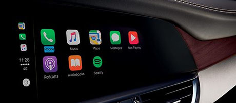 Apple CarPlay<sup>&reg;</sup> and Android Auto™