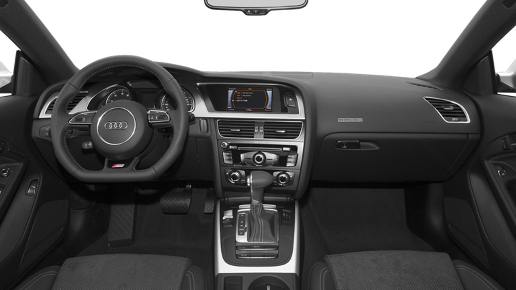 Audi A5 Coupe Interior1