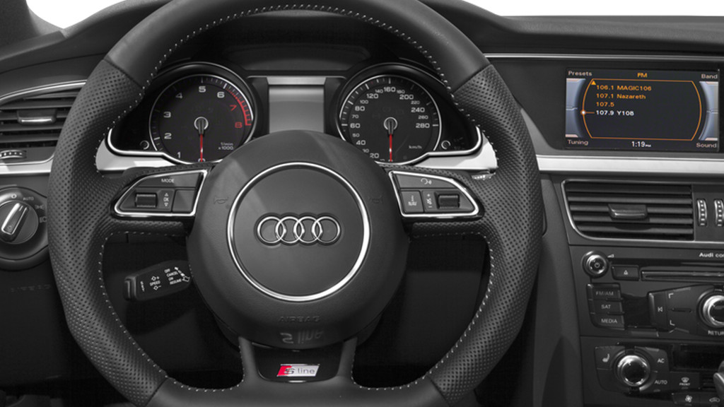 Audi A5 Coupe Interior2