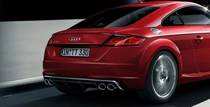 2017 Audi TTS Coupe appearance