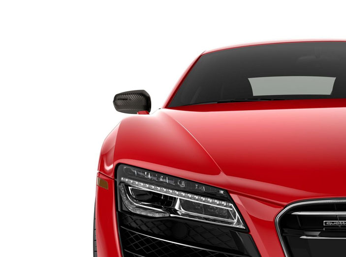2018 Audi R8 Spyder engineering