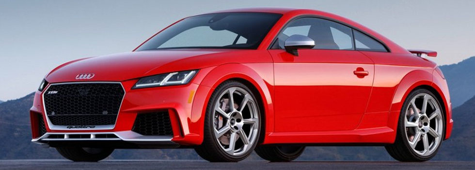 Audi TT RS Coupe APPEARANCE
