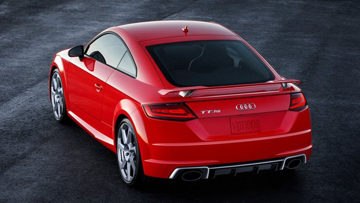 2018 Audi TT RS Coupe appearance