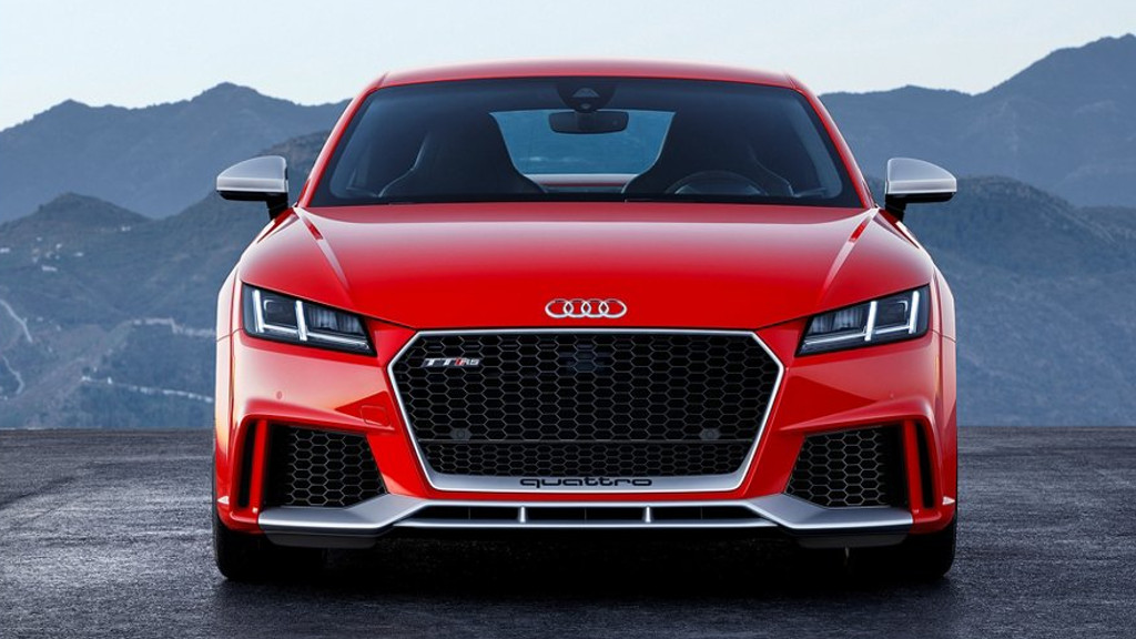 2018 Audi TT RS Coupe exterior