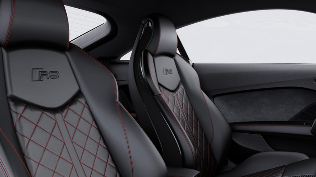2018 Audi TT RS Coupe interior