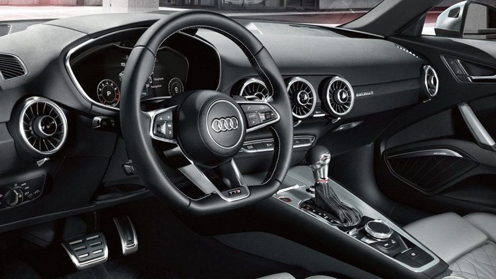 2018 Audi TTS Coupe interior