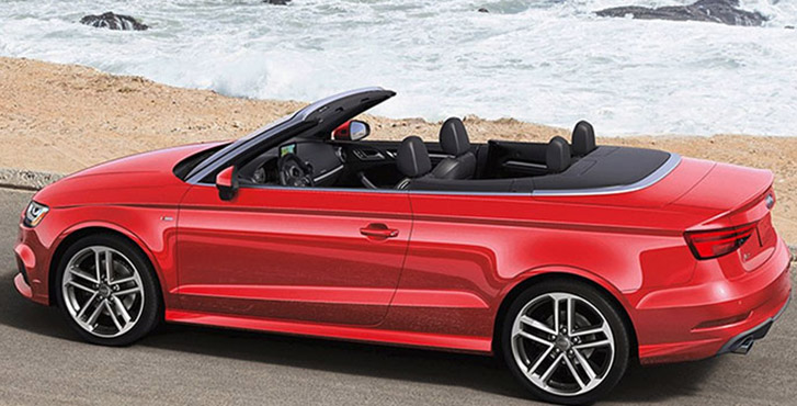 2019 Audi A3 Cabriolet engineering