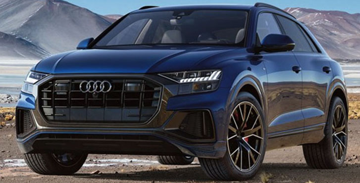 2019 Audi Q8 engineering
