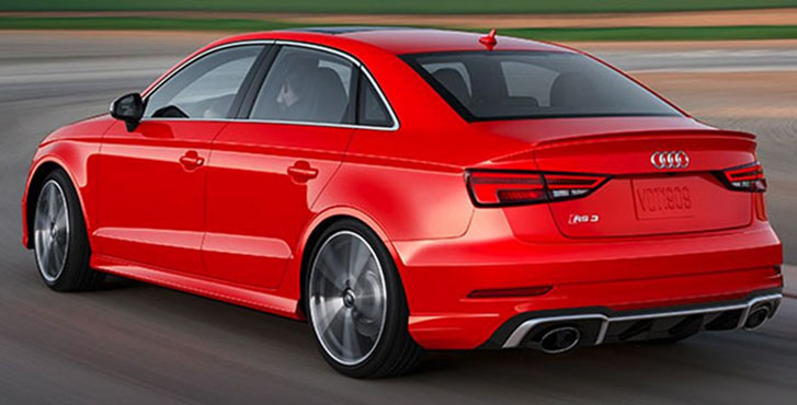 2019 Audi RS 3 engineering