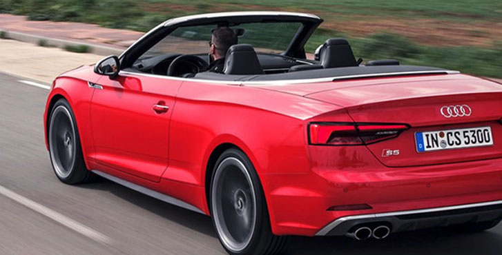 2019 Audi S5 Cabriolet engineering