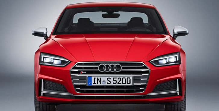 2019 Audi S5 Coupe appearance