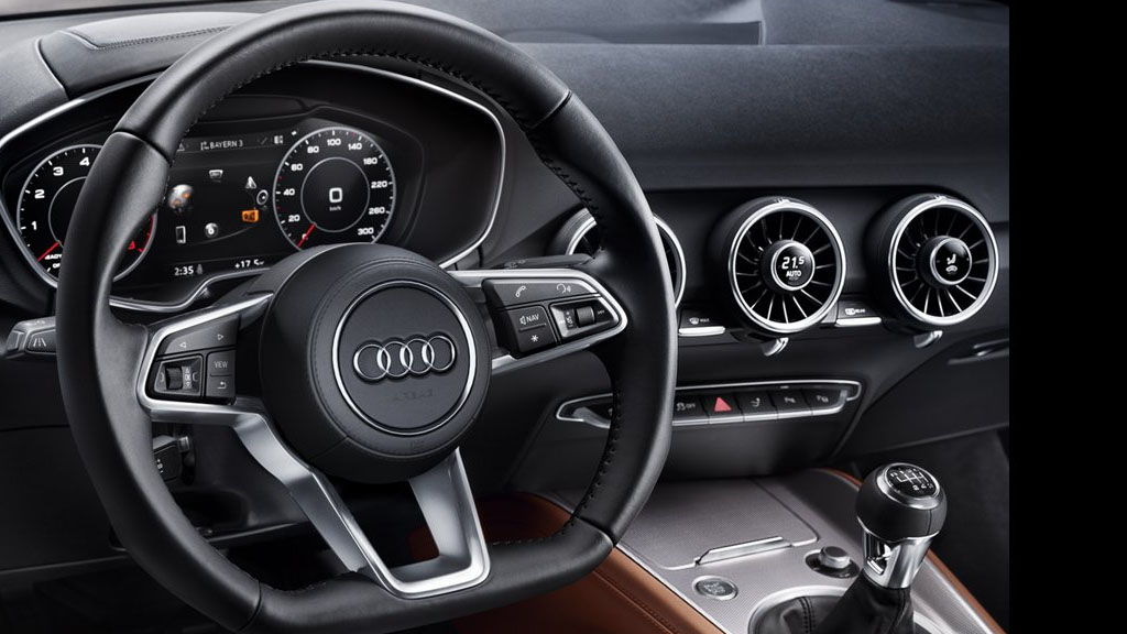 2019 Audi TT Coupe interior