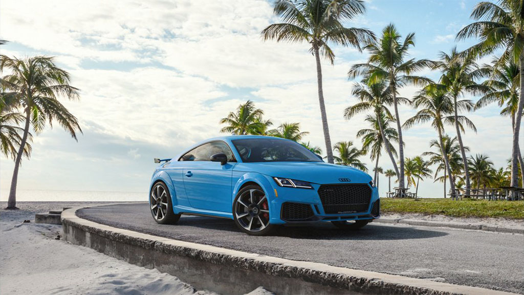 2019 Audi TT RS Coupe exterior