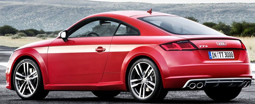 Audi TTS Coupe APPEARANCE