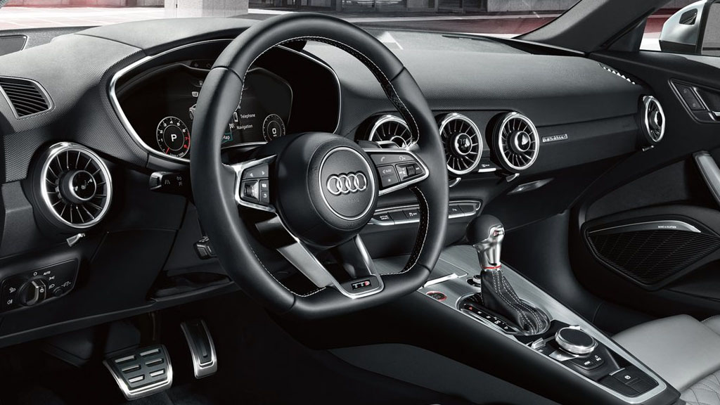 2019 Audi TTS Coupe interior