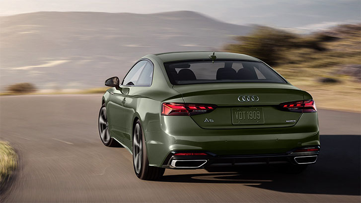 2020 Audi A5 Coupe engineering