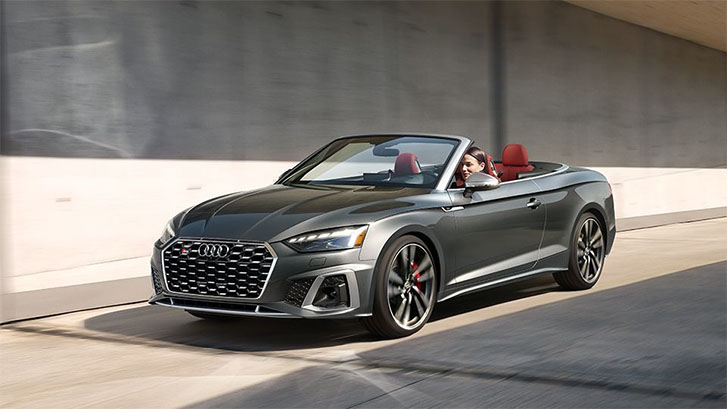 2020 Audi S5 Cabriolet engineering