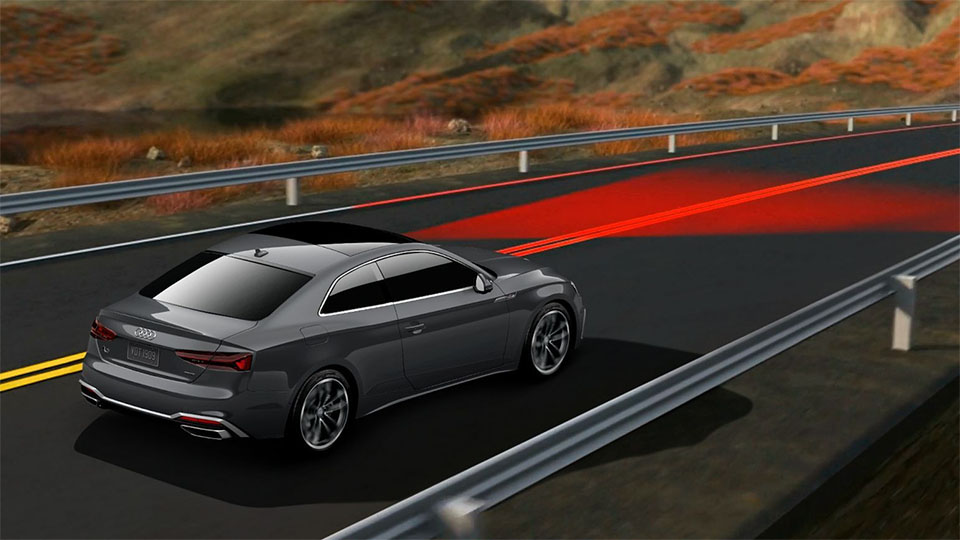 2020 Audi S5 Coupe technology