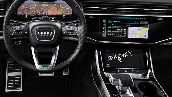 2020 Audi SQ8 technology