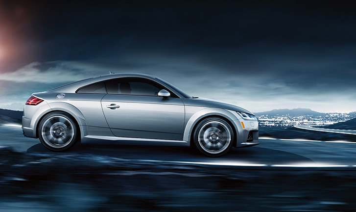 2020 Audi TT Coupe technology