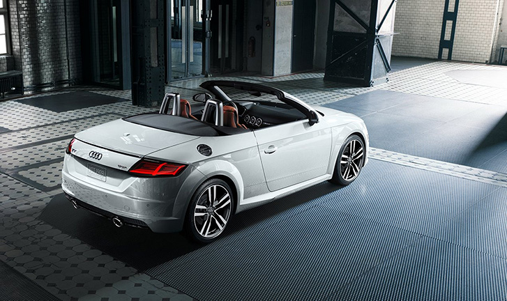 2020 Audi TT Roadster technology