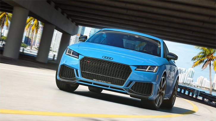 2020 Audi TT RS Coupe appearance