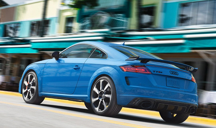 2020 Audi TT RS Coupe engineering
