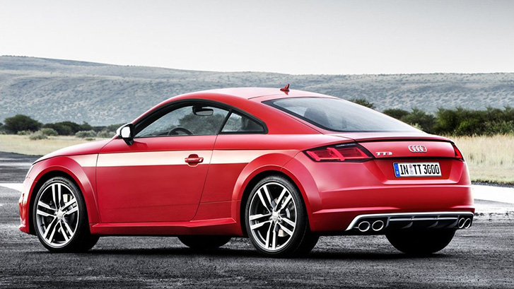 2020 Audi TTS Coupe appearance