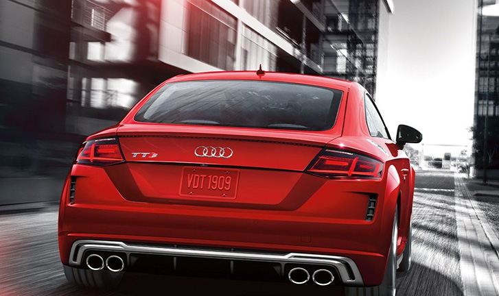 2020 Audi TTS Coupe technology