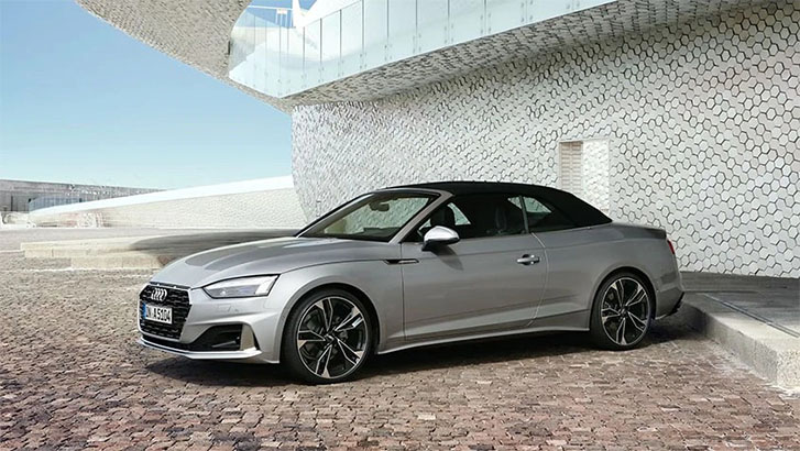 2021 Audi A5 Cabriolet engineering